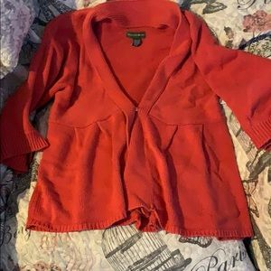 Gently worn cotton and acrylic sweater